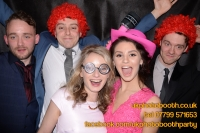 Carrie Ann and Mike Oldham Wedding Photo Booth Hire-11