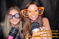 Carrie Ann and Mike Oldham Wedding Photo Booth Hire-13