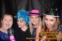Carrie Ann and Mike Oldham Wedding Photo Booth Hire-3