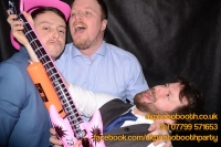 Carrie Ann and Mike Oldham Wedding Photo Booth Hire-30