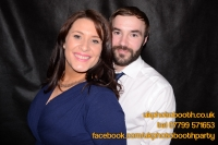 Carrie Ann and Mike Oldham Wedding Photo Booth Hire-33
