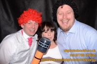 Carrie Ann and Mike Oldham Wedding Photo Booth Hire-34