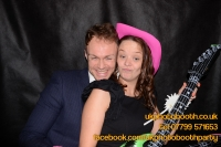 Carrie Ann and Mike Oldham Wedding Photo Booth Hire-37
