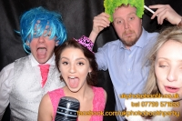 Carrie Ann and Mike Oldham Wedding Photo Booth Hire-41