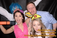 Carrie Ann and Mike Oldham Wedding Photo Booth Hire-42