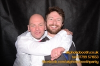 Carrie Ann and Mike Oldham Wedding Photo Booth Hire-46