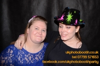 Carrie Ann and Mike Oldham Wedding Photo Booth Hire-8