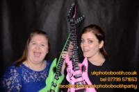Carrie Ann and Mike Oldham Wedding Photo Booth Hire-9