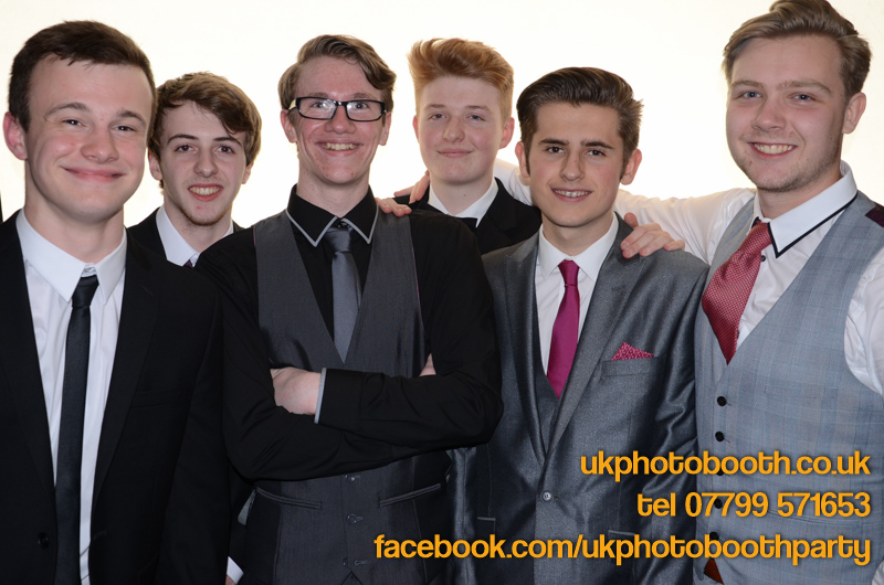 Rochdale 6th Form Leavers Party Photo Booth Hire