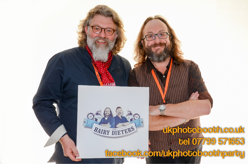 Hairy Bikers Photo Booth Hire