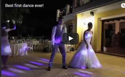 Best First Dance Ever?