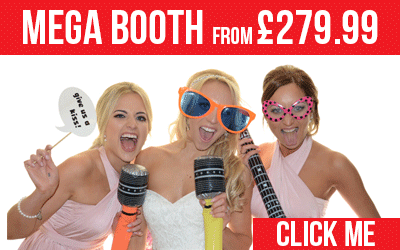 Mega Booth Photo Booth from £279.99