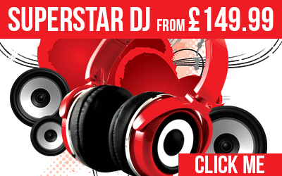 DJ Hire from only £149.99