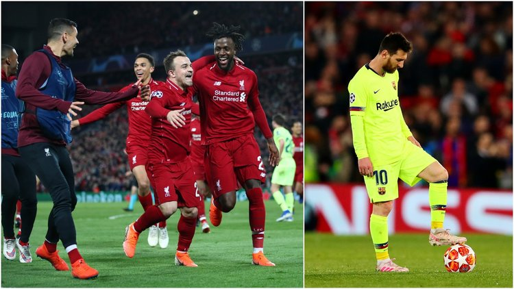 Historic Win For Liverpool FC